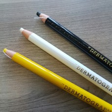 Маркер (карандаш для разметки) самозатачивающийся, Mitsubishi цвет жёлтый.