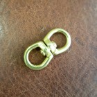 Фурнитура - битные кольца 16х33 мм. из латуни.