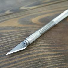 Перьевой нож для художественных работ 20 мм. Felix Pulke с металлическим крепежом.