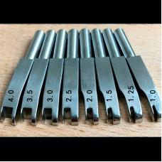 Насадка для биговки на паяльник (1 штука) нержавейка тип 4 размер 3.0