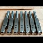 Насадка для биговки на паяльник (1 штука) нержавейка тип 1 размер 2.0
