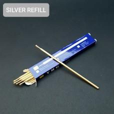 Маркер для кожи разметочный, разметочный стержень серебристый SILVER REFILL YHG.