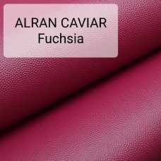 Кожа козлёнок Alran CHEVRE GRAIN CAVIAR фуксия 46 дм.