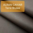 Кожа козлёнок Alran CHEVRE GRAIN CAVIAR тёмно-коричневый 35 дм.