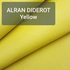 Кожа козлёнок Alran DIDEROT жёлтый 36 дм. ДВОЁНЫЙ!