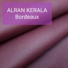 Полукожа козлёнок Alran Kerala бордо ДВОЁНЫЙ до 0.8 мм. 20 дм.кв.