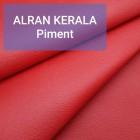 Полукожа козлёнок Alran Kerala красный цвет ДВОЁНЫЙ до 0.8 мм. 22 дм.кв.