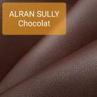 Кожа козлёнок Alran Sully шоколадный коллекция 2019 34 дм.