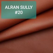 Кожа козлёнок Alran Sully терракотовый 42 дм.