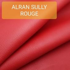 Кожа козлёнок Alran Sully красный 43 дм.