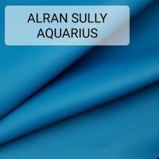 Полукожа козлёнок Alran Sully коллекционный синий цвет ДВОЁНЫЙ до 0.6 мм. 16 дм.кв.