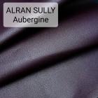 Кожа козлёнок Alran Sully коллекционный сливовый 37 дм. ДВОЁНЫЙ до 0.6 мм.