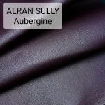 Кожа козлёнок Alran Sully коллекционный сливовый цвет ДВОЁНЫЙ до 0.6 мм. ПОЛУКОЖА 21 дм.кв.