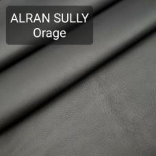 Полукожа козлёнок Alran Sully тёмно-серый цвет ДВОЁНЫЙ до 0.6 мм. 19 дм.кв.
