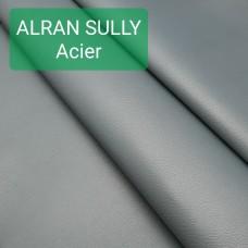 Кожа козлёнок Alran Sully цвет булатной стали 46 дм. ДВОЁНЫЙ до 0.6 мм.