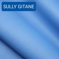 Полукожа козлёнок Alran Sully коллекционный синий цвет ДВОЁНЫЙ до 0.55 мм. 25 дм.кв.