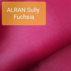 Полукожа козлёнок Alran Sully фуксия цвет ДВОЁНЫЙ до 0.6 мм. 22 дм.кв.