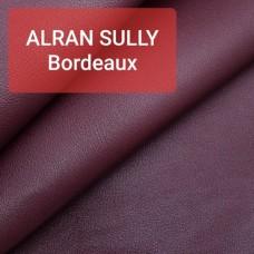 Кожа козлёнок Alran Sully бордовый 46 дм. ДВОЁНЫЙ до 0.6 мм.