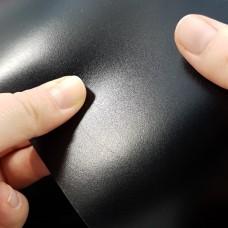 Кожа теленок Tannery D'Annonay box calf VEAU VOCALOU grade A черный 30х64 см.