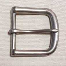 """Пряжка для ремня 38 мм. - 1 1/2"""" из 100% латуни с покрытием матовый никель."""