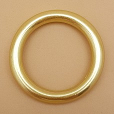Фурнитура премиум - кольцо неразъёмное 32 мм. латунь.