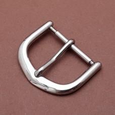 Пряжка для часового ремешка 100% нерж.сталь 18 мм.