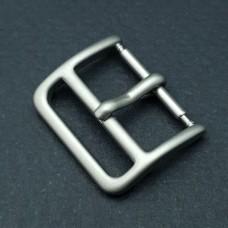 Пряжка для часового ремешка 100% нерж.сталь матовая 18 мм.