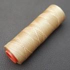 DAFNA нитки для кожи. 100 м. 1.0 мм. бежевый.