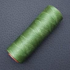 DAFNA нитки для кожи. 100 м. 1.0 мм. зелёный хаки.