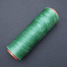 DAFNA нитки для кожи. 100 м. 1.0 мм. зелёный лес.