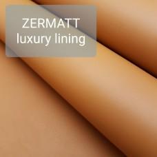 Кожа подкладочная для часовых ремешков Zermatt lining 20х30 см. ДВОЁНЫЙ 2 сорт 0.8 мм.