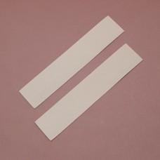 Набор подкладок для часового ремешка Alsavel lining 2 штуки 3.2х15.7 см. ДВОЁНЫЙ 1 сорт 0.8 мм.