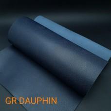 Кожа телёнка SOFTY GR DAUPHIN отрез 43х61 см. тёмно-синий.