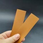 Набор подкладок для часового ремешка Zermatt lining 2 штуки 3.2х15.7 см. ДВОЁНЫЙ 3 сорт 0.8 мм.