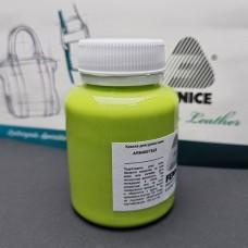 Термокраска для уреза кожи Fenice 100 гр. Матовый лайм.