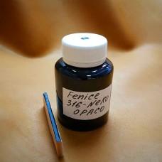 Краска для уреза кожи Fenice цвет чёрный матовый 100 гр. SHADE NERO.