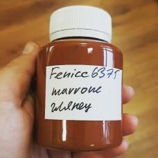 Краска для уреза кожи Fenice цвет коричневый глянцевый 100 гр. DENSE MARRONE.