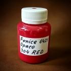 Краска для уреза кожи Fenice малиновый матовый 100 гр. SHADE-304-RED.
