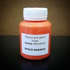 Краска для уреза кожи Fenice оранжевый пастель матовый 100 гр. OPACO-89-NARANJA.