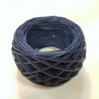 Нитки для шитья кожи вощёные, плетёные SLAM. Полиэстер 30 метров, толщина 1.0 мм. Цвет - тёмно-синий.