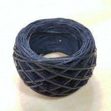 SLAM нитки для кожи. 30 м. 1.0 мм. Цвет - тёмно-синий.