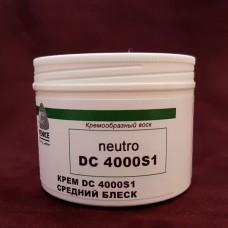 Финиш крем-воск для полировки кожи VICTORIA DC4000-S1, 100 гр. Бесцветный. Средний блеск.