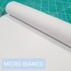 Дублирующий материал - нетканая микрофибра BIANCO SUEDE 50х145 см. 0.5 мм.