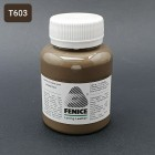 Термокраска для уреза кожи Fenice 100 гр. Матовый кофе с молоком холодный тон.