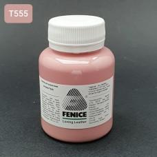 Термокраска для уреза кожи Fenice 100 гр. Матовый розовый пастель.