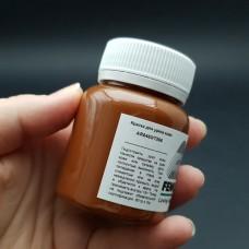 Термокраска для уреза кожи Fenice 80гр. Матовый коричневый.