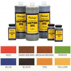 Краска для кожи проникающая - Fiebing's Institutional Dye. 946 мл. цвет - Black. БОЛЬШАЯ БАНКА!