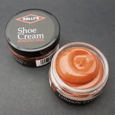 Крем для изделий из гладких кож Kellys Shoe Cream - 42.5 гр. London Tan #21