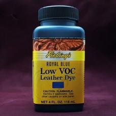 Краска для кожи проникающая - Fiebing's Low Voc Leather Dye. 118 мл. цвет - Royal Blue.