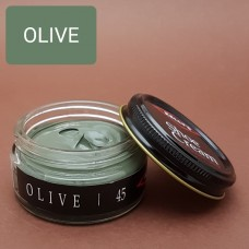 Крем для изделий из гладких кож Kelly's Shoe Cream - 42.5 гр. OLIVE.